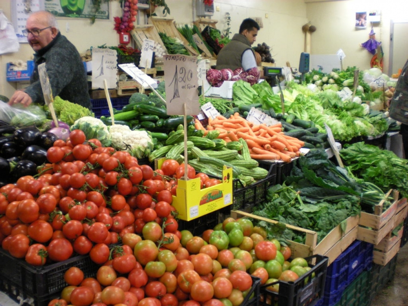 Any vegetable you want is available and fresh