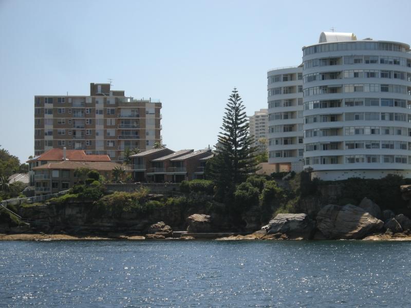 View of cliff in Sydney