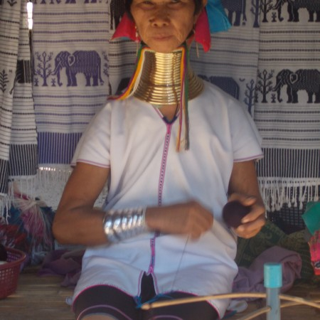 The local tribe of Chiang Mai