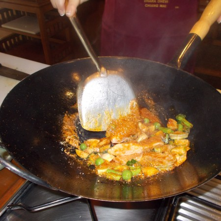 The proper way to wok