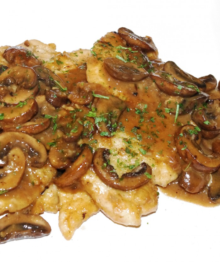 Chicken Marsala with Mushrooms 005