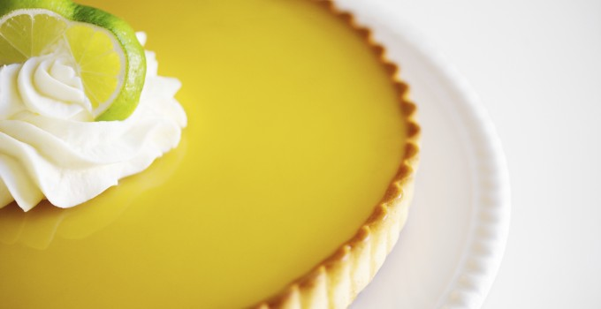 Key Lime Pie with Lemongrass