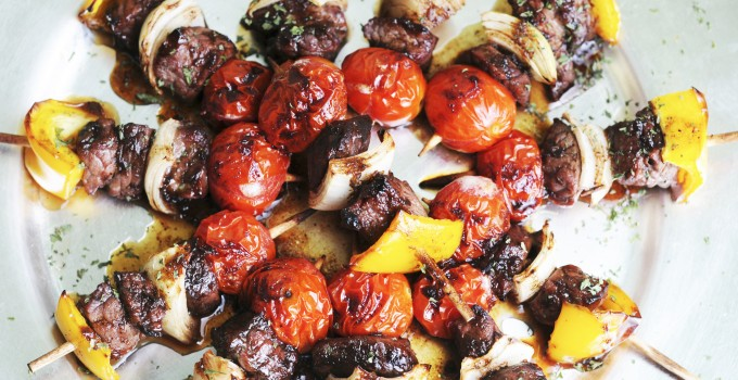 Brazilian Steak Kabobs